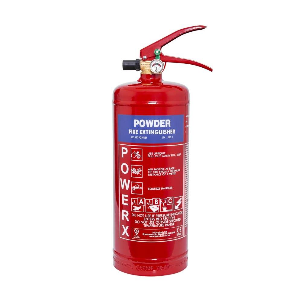 PowerX 3kg Powder Fire Extinguisher