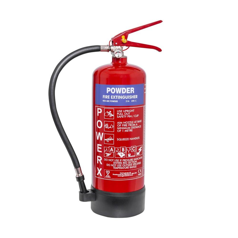 PowerX 4kg Powder Fire Extinguisher