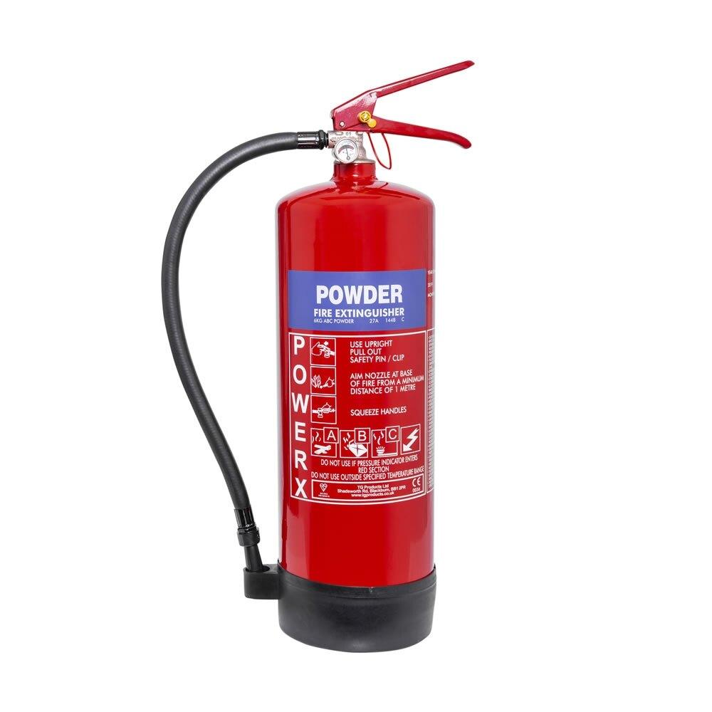 PowerX 6kg Powder Fire Extinguisher