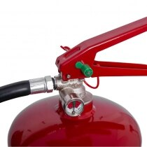 Simple to read pressure gauge and coated steel levers