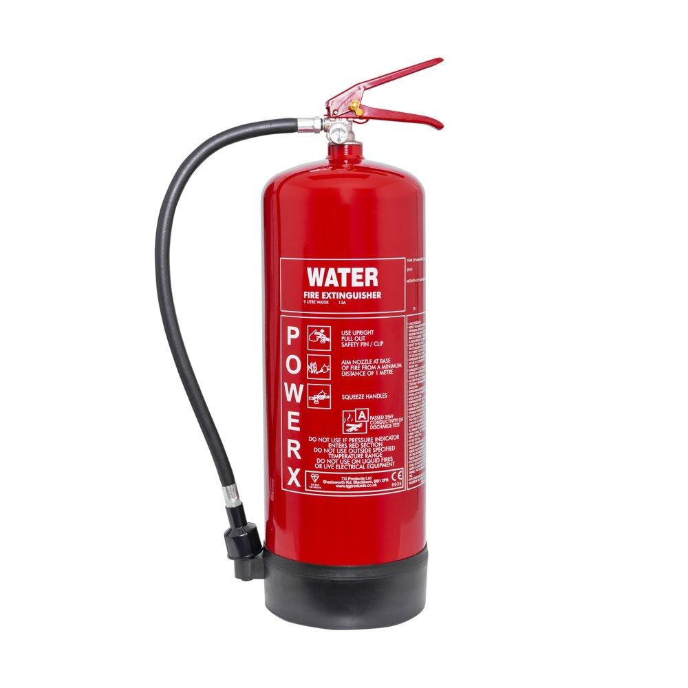 PowerX 9ltr Water Fire Extinguisher
