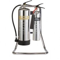 Suitable for two fire extinguishers up to 9kg / 9ltr