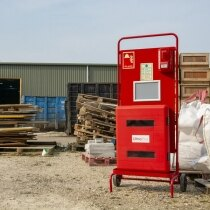 Ideal for sites that require temporary fire safety equipment