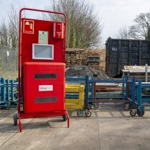 Ideal for sites that require permanent fire safety equipment