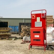 Provides a central recognisable location for fire safety equipment