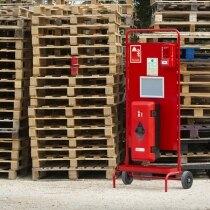 Waterproof extinguisher cabinet