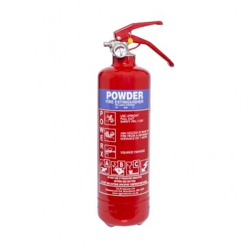 Image of the 1kg Powder Fire Extinguisher - Thomas Glover PowerX