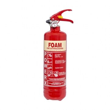 Image of the 1ltr AFFF Foam Fire Extinguisher - Thomas Glover PowerX