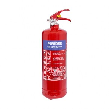 Image of the 2kg Powder Fire Extinguisher - Thomas Glover PowerX