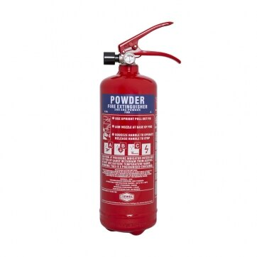 Image of the 2kg Powder Fire Extinguisher - Jewel Fire Group