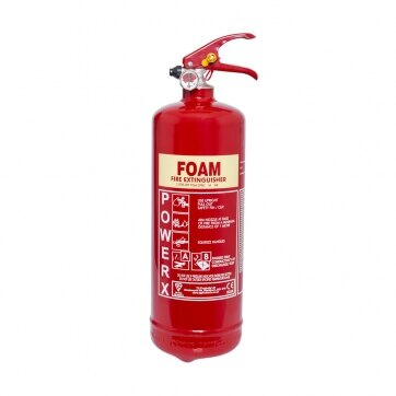 Image of the 2ltr AFFF Foam Fire Extinguisher - Thomas Glover PowerX
