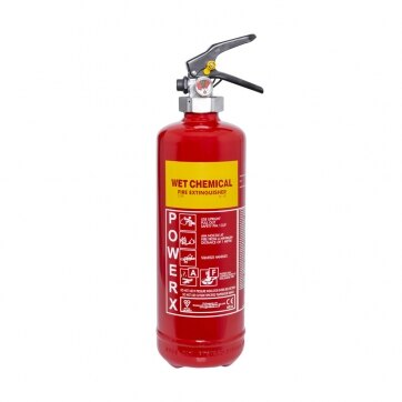 Image of the 2ltr Wet Chemical Fire Extinguisher - Thomas Glover PowerX