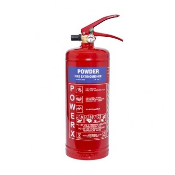 Image of the 3kg Powder Fire Extinguisher - Thomas Glover PowerX