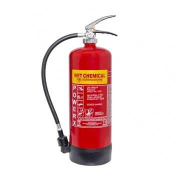 Image of the 6ltr Wet Chemical Fire Extinguisher - Thomas Glover PowerX
