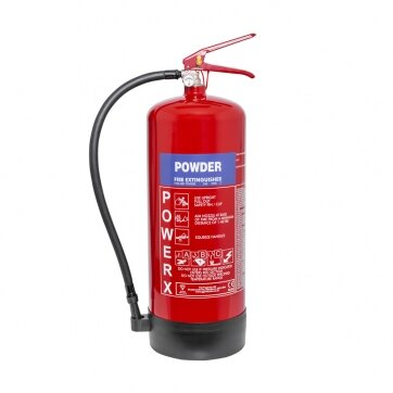 Image of the 9kg Powder Fire Extinguisher - Thomas Glover PowerX
